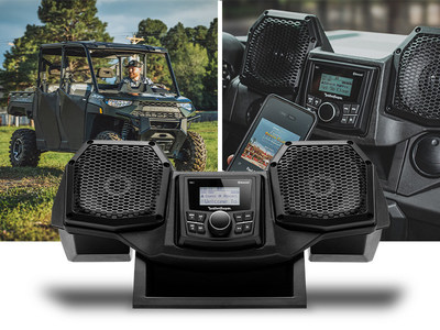 Rockford Fosgate® introduces new All-In-One Audio Solution for Select Polaris Ranger® 2018 - 2022 Vehicles