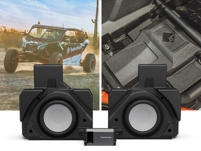 Rockford Fosgate® introduces new 1,000-Watt Rear Subwoofer Solution for Select Can-Am Maverick® X3 MAX Vehicles
