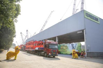 Zoomlion bate otro récord en la fabricación de alta gama y exporta la grúa sobre orugas de mayor tonelaje de China