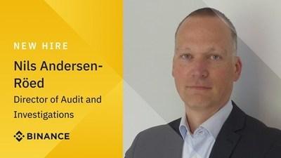 Nils Andersen-Röed se une a Binance desde Europol