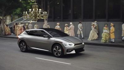 Kia America se apodera del Primetime para presentar el EV6 totalmente el�ctrico y la nueva marca Kia America