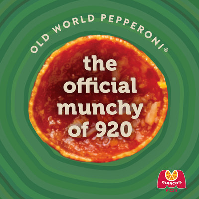 Marco's Pizza Declares National Pepperoni Pizza Day as High Time to Satisfy the Late-Night Munchies with its Signature Old World Pepperoni®
