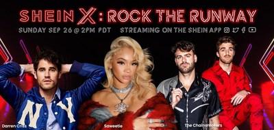 SHEIN ANUNCIA SHEIN X ROCK THE RUNWAY con la colección FW2021