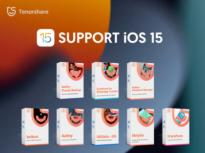 All Tenorshare Software is now Compatible with Apple's iOS 15