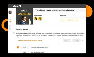 BeNext, una plataforma de aprendizaje digital basada en cohortes para la comunidad de RRHH, ahora ofrece cursos en inglés y español.