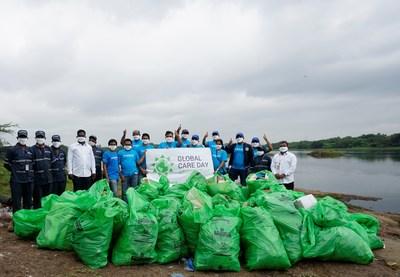 Los voluntarios de LyondellBasell se centran en las actividades de sostenibilidad del Global Care Day