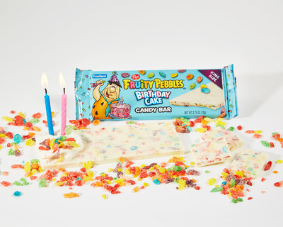 Frankford Candy Delivers a Tasty Treat to Celebrate 50 Years of  Fruity PEBBLES™ with NEW Birthday Cake Candy Bar