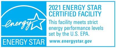 Dos plantas de Tate & Lyle en los EE. UU. recibieron la certificación Energy Star por el quinto y el séptimo año consecutivo