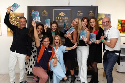 Rodeada del afecto de amigos y admiradores Laura Termini presentó en Madrid su libro REALMENTE ÚNICA.