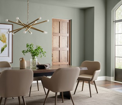 Sherwin-Williams Inspires a Fresh Start with 2022 Color of the Year Evergreen Fog SW 9130