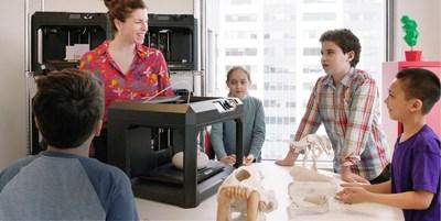 Impresión 3D en aulas híbridas con Makerbot Cloudprint