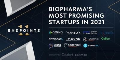 Endpoints News names the 11 most promising biotech startups of 2021