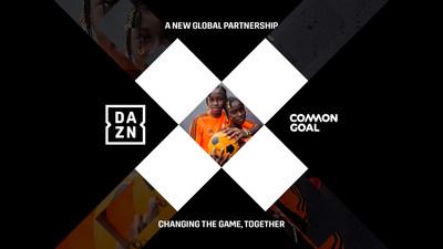DAZN y Common Goal se unen en un acuerdo global multianual
