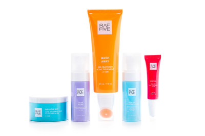 Zelira™ Launches RAF FIVE™ Acne Treatment Products Through Its Dermatology Focused Subsidiary