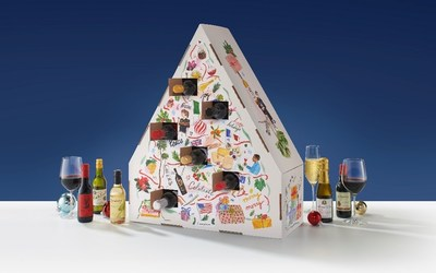 Travel The Globe this Holiday Season with the 2021 World of Wine Advent Calendar