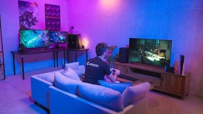 Los monitores para juegos 4K de GIGABYTE lideran con HDMI 2.1 y panel de alta tasa de refresco