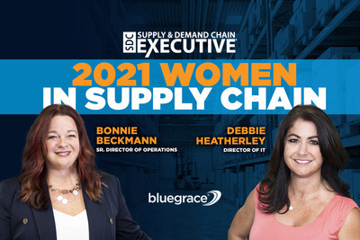 Supply & Demand Chain Executive Highlights BlueGrace Logistics in 2021 Women in Supply Chain Awards
