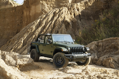 Jeep® Brand Announces 2022 Wrangler Willys With Xtreme Recon Package at 2021 Detroit 4Fest