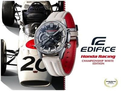 Casio lanza el modelo EDIFICE en colaboración con Honda Racing, con el color
