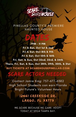 Scarehouse Pinellas in Largo is Back for Its Third Year