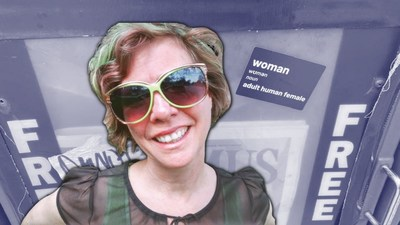 WoLF Member Cited for Hate Crime for Feminist Stickers