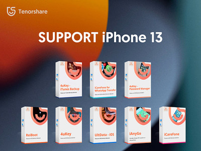 All Tenorshare Software is now Compatible with iPhone 13