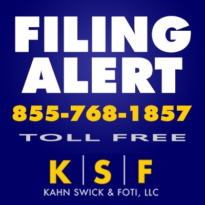 VALLEY NATIONAL INVESTOR ALERT BY THE FORMER ATTORNEY GENERAL OF LOUISIANA: Kahn Swick & Foti, LLC Investigates Valley National Bancorp - VLY