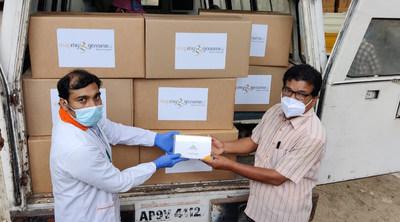 Zymo Research afianza su compromiso de erradicar la pandemia de COVID-19 en India