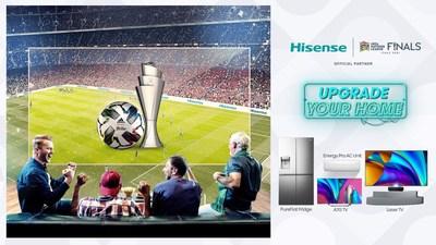 Hisense continúa como socio oficial de la final de la UEFA Nations League 2021 en Italia