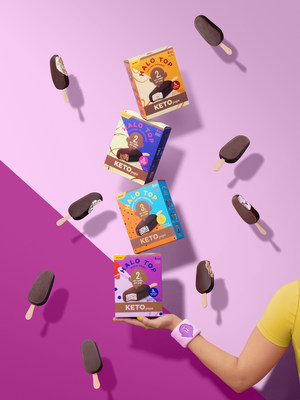 Halo Top® Expands Keto-Friendly Frozen Desserts with New On-the-Go Keto Pops