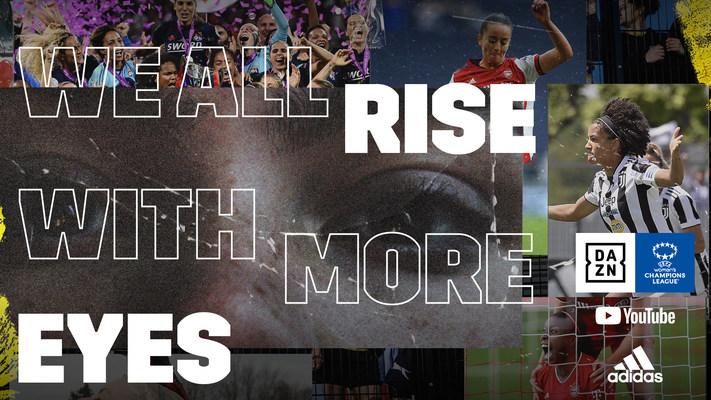 Adidas será el patrocinador global exclusivo de la cobertura de la Women's Champions League de la UEFA en DAZN y en YouTube