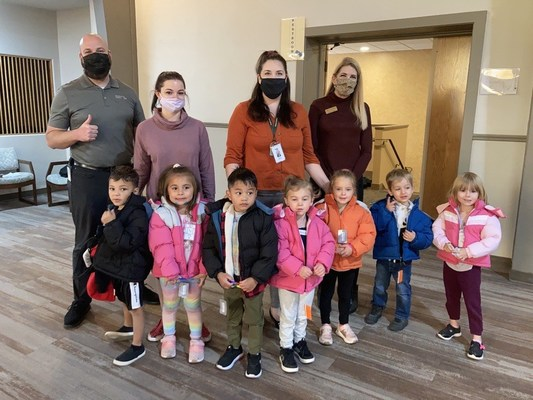 Mountain America Credit Union's Employee Match Program Gifts 240 Coats to Kids at Head Start in Billings, Montana