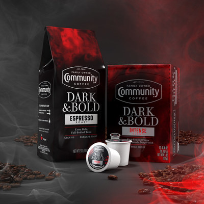 Community Coffee Launches New Dark & Bold Blends