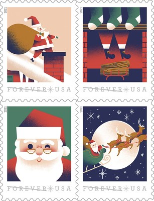 Santa Claus Post Office Welcomes a Visit From St. Nick