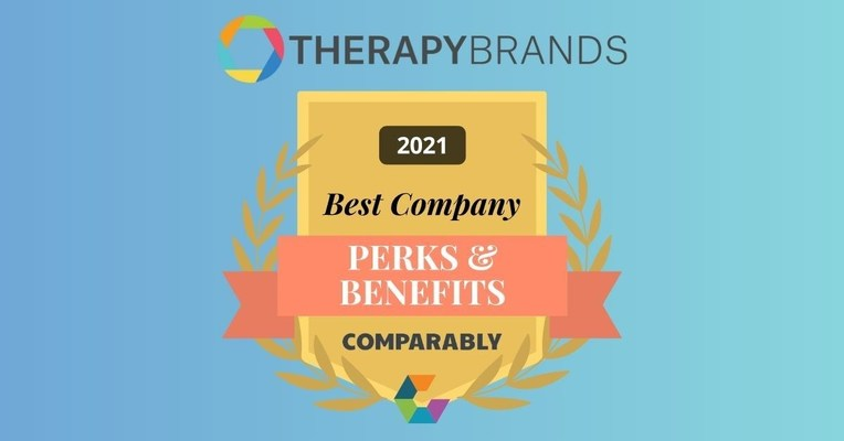 Therapy Brands wins Award for Best Company Perks & Benefits from Comparably