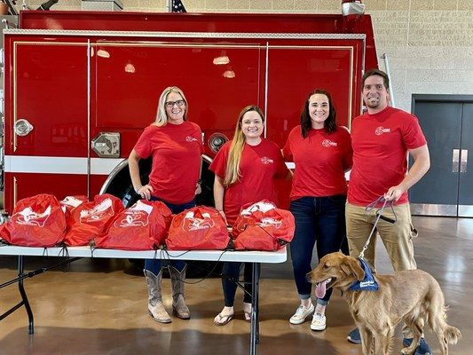 33,000 Pet Oxygen Masks Donated and Counting: Calvert County Stations to Receive 90 Pet Oxygen Masks