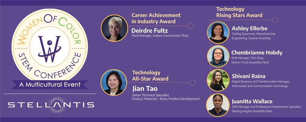 Stellantis Women of Color Earn Recognition at Annual STEM Conference
