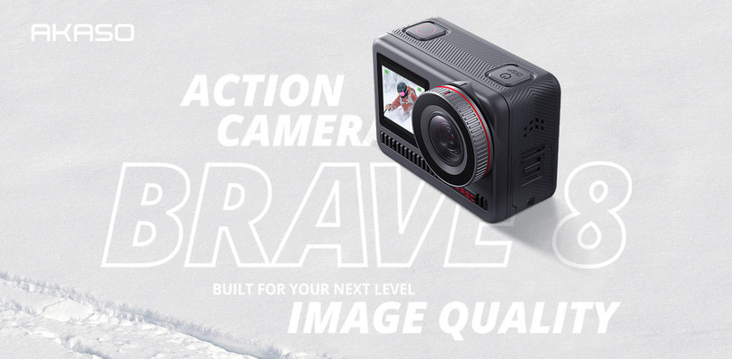 AKASO Releases New Brave 8 Action Cameras