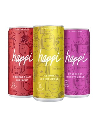 Introducing Happi: Cannabis-Infused Sparkling Water Celebrating Life's Happy Moments