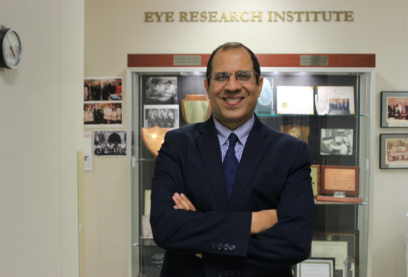 Oakland University welcomes new director of Eye Research Institute, founding director of OUWB Eye Research Center