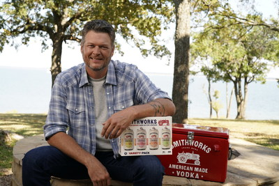 Smithworks® and Blake Shelton Launch a New Ready-To-Drink American-Brewed Hard Seltzer Lemonade