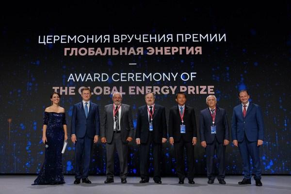 El Premio Global de Energía celebra su ceremonia de premiación con ganadores de Grecia, Italia, Rusia y Estados Unidos