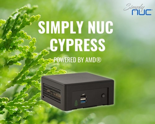 Simply NUC® Launches Cypress Long-Life Mini PC Powered by Latest AMD® Ryzen™ Embedded Processors