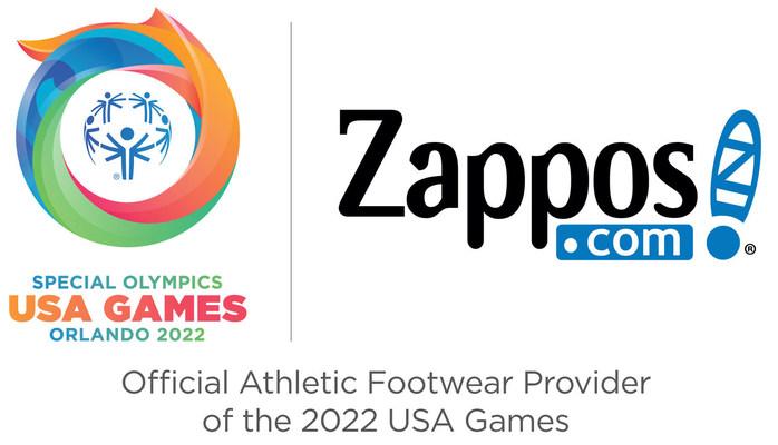 Zappos.com Announces Platinum Sponsorship of the 2022 Special Olympics USA Games in Orlando, Florida