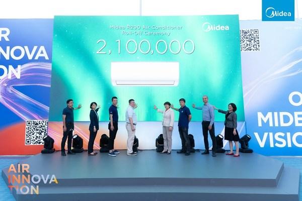 Midea celebra una conferencia para lanzar su solución de hogar inteligente NZEC