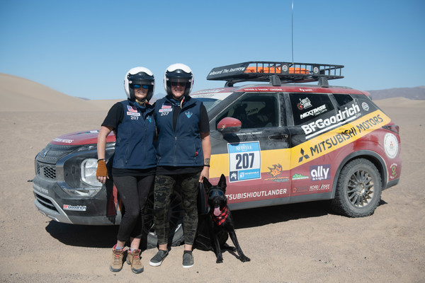 Mitsubishi Motors And Veterans Nonprofit Record The Journey Inspire With 2021 Rebelle Rally Finish