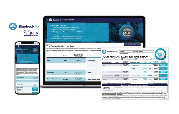 Healthcare Bluebook and Scripta Insights Partner to Deliver the Ultimate Member Cost Containment Solution to Reduce Medical & Pharmacy Out-of-Pocket Spend