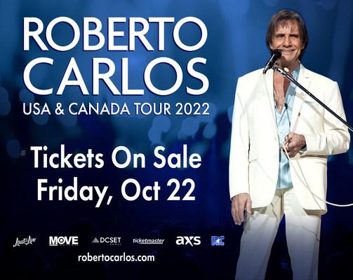 Roberto Carlos anuncia su nueva gira en el 2022