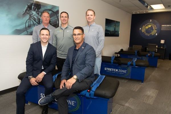 Drew Brees Celebrates Grand Openings Of Multiple Stretch Zone Studios In New Orleans, Alongside College Football Teammates From Purdue University