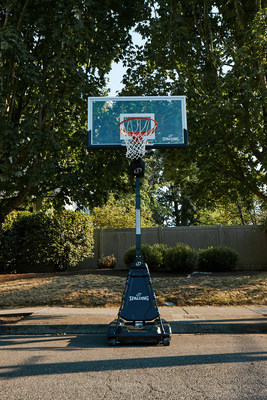 Spalding® Launches Momentoustm Ez Assemblytm Basketball Hoops that Install in Under 30 Minutes